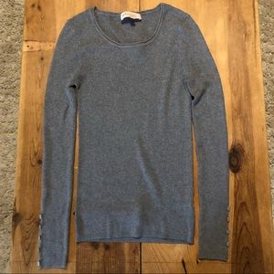 Long sleeve gray philosophy shirt